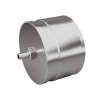 Заглушка с конденсатоотводчиком d 115 0.5 мм