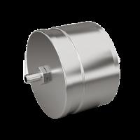 Заглушка с конденсатоотводчиком d 150 0.5 мм