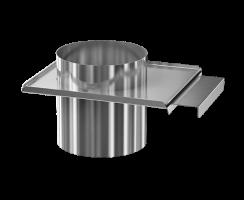 Шибер заслонка d 150 0.8 мм