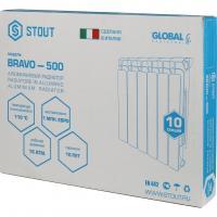 Радиатор алюминиевый STOUT Bravo 500_7