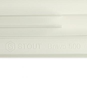 Радиатор алюминиевый STOUT Bravo 500