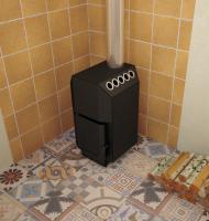 Печь для дома ТОП-модель 140 со стальной дверцей_1