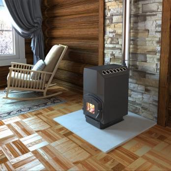 Печь для дома ТОП-модель 300 с чугунной дверцей