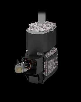 Печь для бани и сауны Русь-Сетка 18Л с АГГ20П*