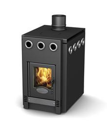 Отопительно-варочная печь ГрейВари 1.100 Screen