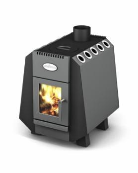 Отопительно-варочная печь Комбат 150 Screen