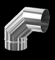 Отвод 90° d 200 0.8 мм