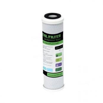 """Картридж Kristal Filter Slim 10"""" CP (активированный уголь)"""